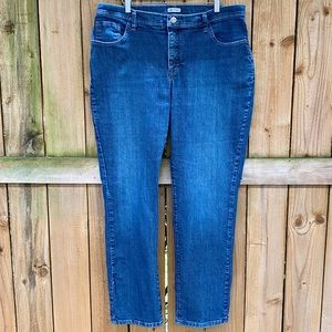 Lee Curvy Fit At The Waist 18W Jeans EUC
